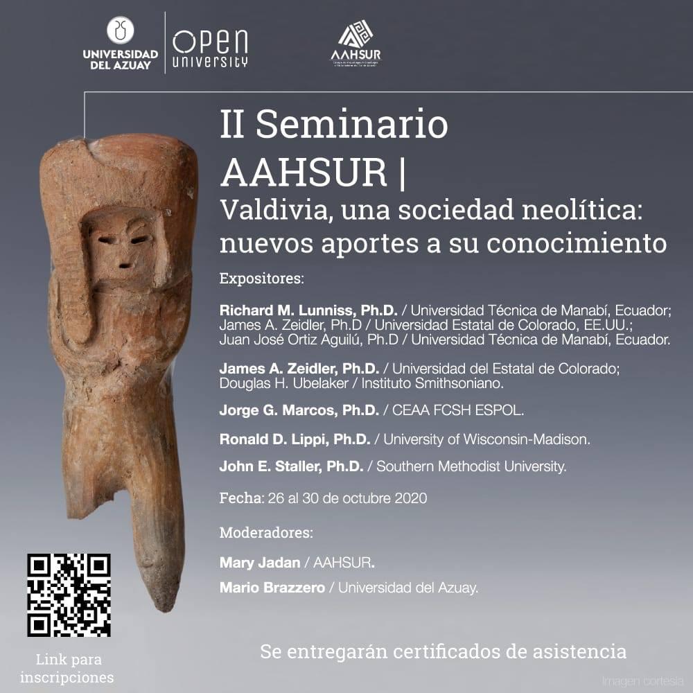 II AAHHSUR Seminar: Valdivia, a Neolithic society