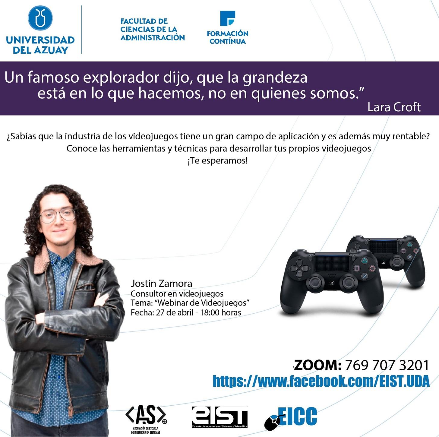 Video Game Webinar