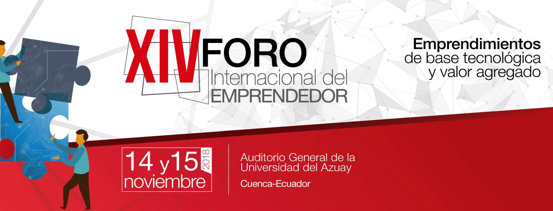 XIV International Entrepreneur Forum