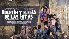 Ecuadorian Popular Cantata Elegía de las Mitas Newsletter
