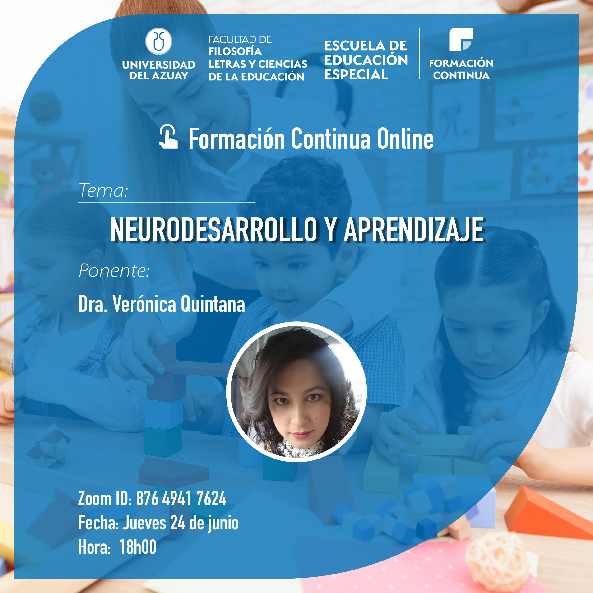 Neurodevelopment and Learning Webinar