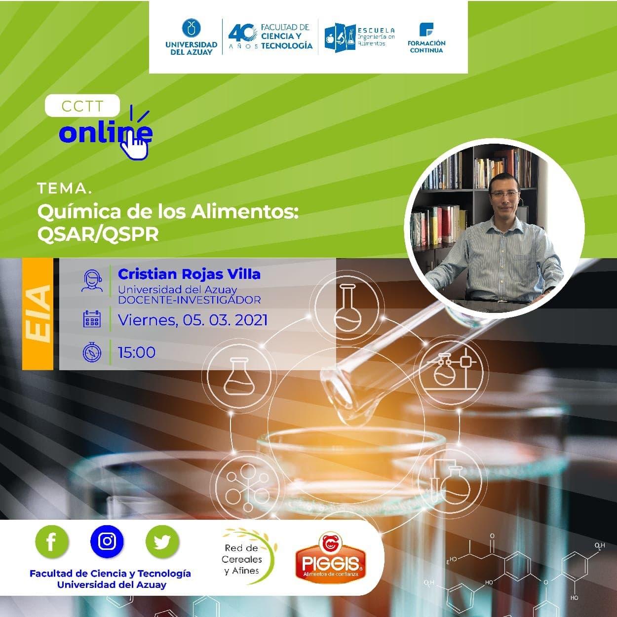 QSAR / QSPR Food Chemistry