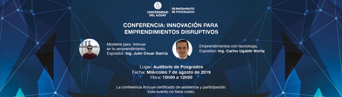 Innovation for Disruptive Entrepreneurships
